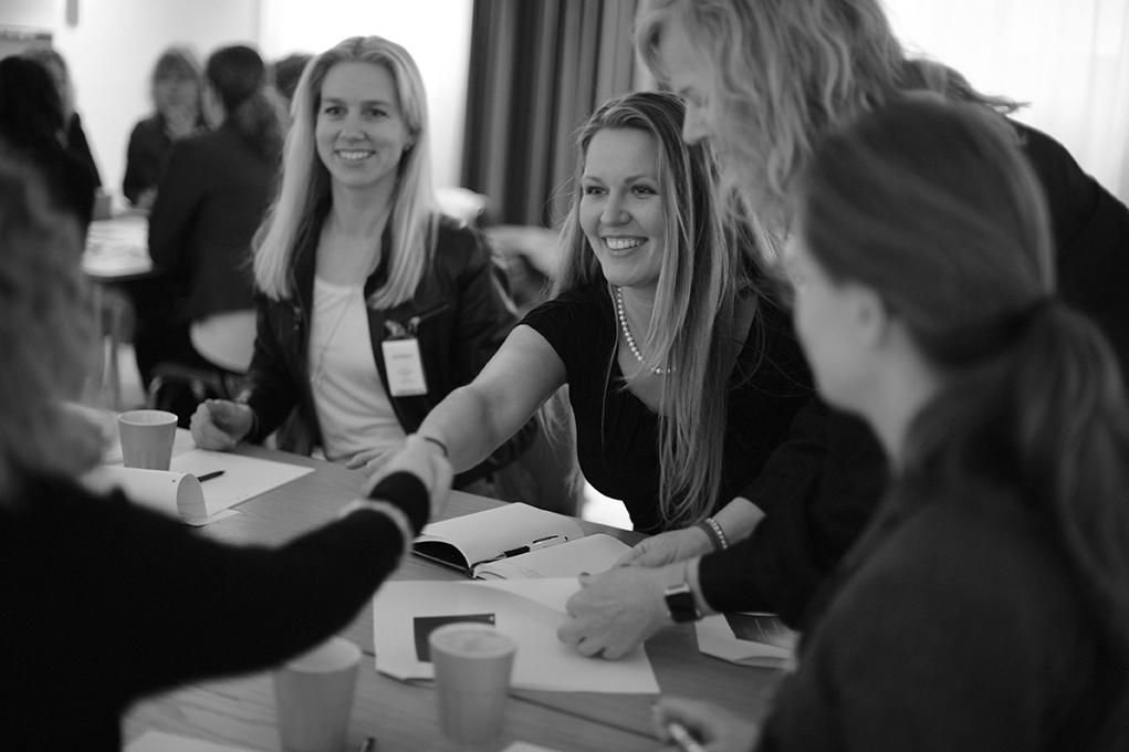 Ledande kvinnor i IT- och telekombranschen: adepter i Womentor 2016.