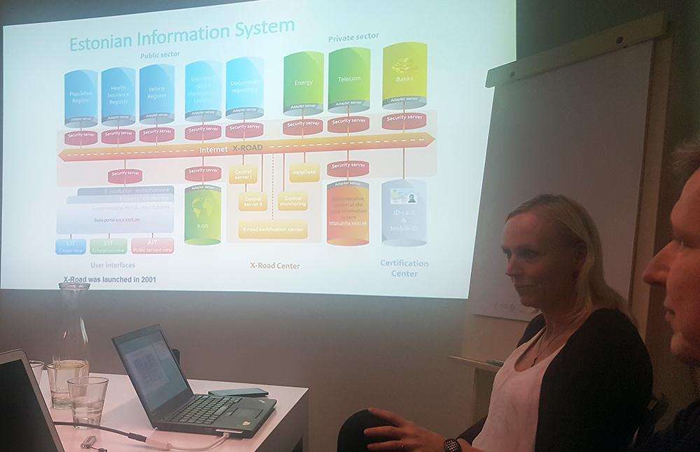 Presentation av Estlands X-road