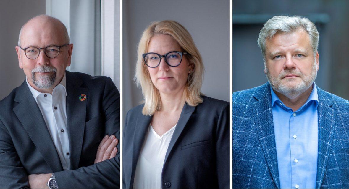 Magnus Höij, Åsa Zatterberg, Thomas Erséus