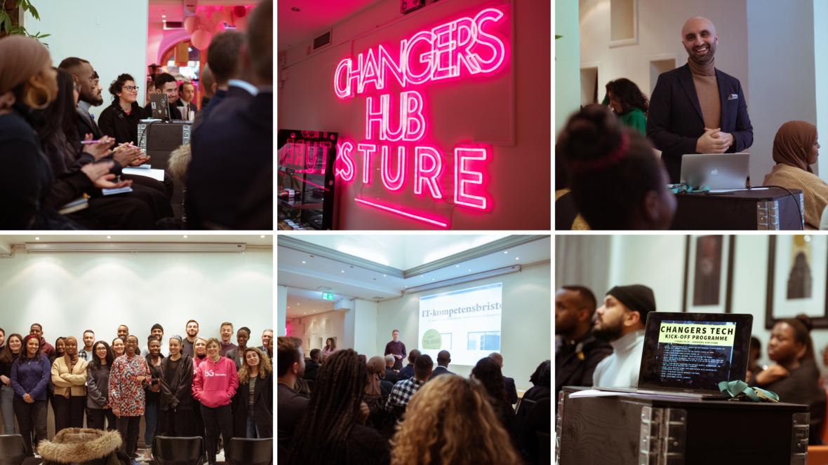Kollage Changers Hub.Foto Mario Mendoza