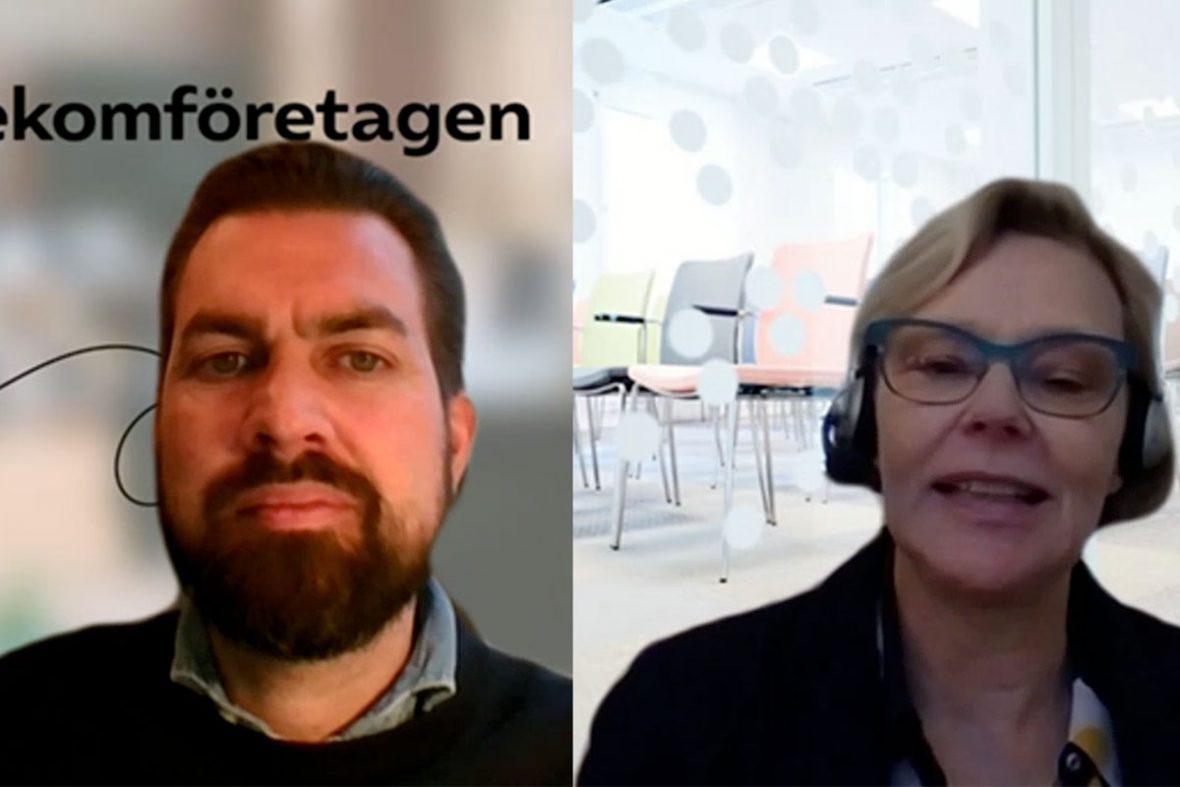 Pär Nygårds intervjuar Annelie Roswall Ljunggren