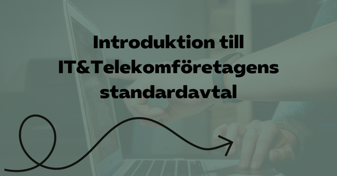 Introduktion till TechSveriges standardavtal